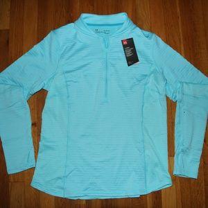 NEW Under Armour Spectra 1/2 Zip Shirt Women's XL
